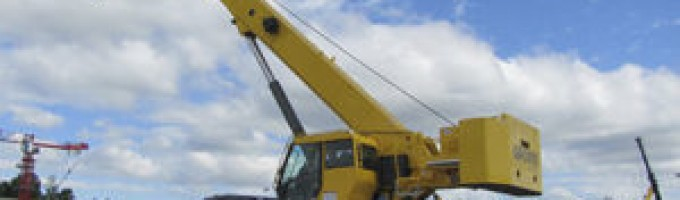 50 Ton Rough Terrain Cranes