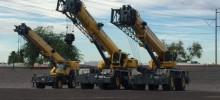 150 Ton Rough Terrain Cranes
