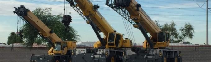40 Ton Rough Terrain Cranes